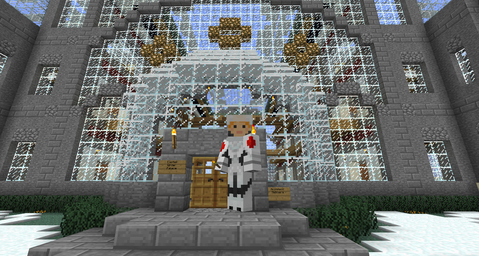 Minecraft Winter Castle Related Keywords & Suggestions ...